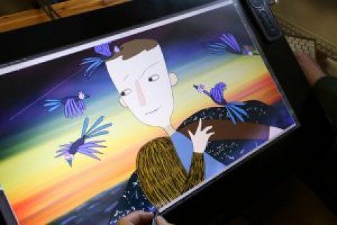 """FOTO: Drīzumā tiks pabeigta leģendārās animācijas režisores Rozes Stiebras jaunā filma """"Saule brauca debesīs"""""""