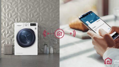 LG sāk piedāvāt mūsdienīgu risinājumu veļas žāvēšanā