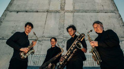 """Saksofonu kvartets """"Quatuor Machaut"""" koncertcikla """"Iededz gaismu"""" ieskaņā  (+ VIDEO)"""