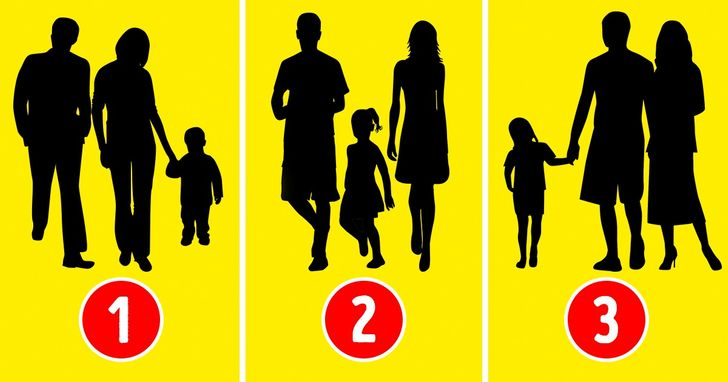 Psiholoģiskais tests: Uzmini, kurā attēlā nav redzama īsta ģimene!