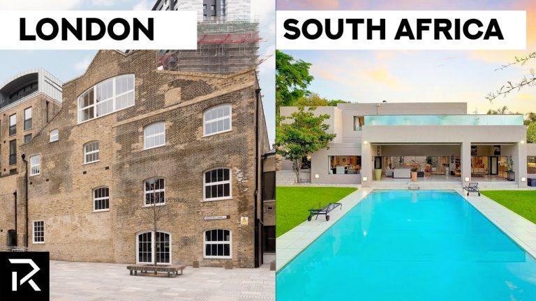 Kā atšķiras miljons dolārus vērts mājoklis dažādās pasaules valstīs? (+VIDEO)