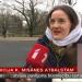 Pie Ģenerālprokuratūras Misānes atbalstam pulcējas ap 30 cilvēku (+VIDEO)